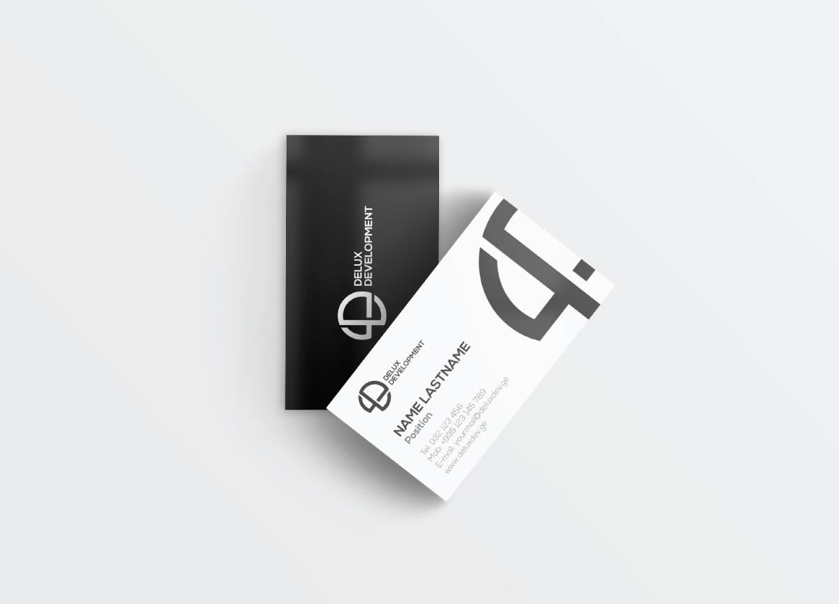 Delux Development business card design, ლოგოს დამზადება, ლოგოს დიზაინი, ლოგოების შექმნა, ლოგოების დამზადება, ლოგოს დამზადების ფასი, ბრენდინგი, ბანერების დამზადება, ლოგოტიპის შექმნა, ლოგოტიპების დიზაინი, ოპტიმიზაცია, facebook დიზაინი, ვებგვერდის დიზაინი, ლოგოების დიზაინი, ლოგოტიპების დამზადება, saitebis damzadeba, logoebis damzadeba, saitis damzadeba, logos damzadeba,