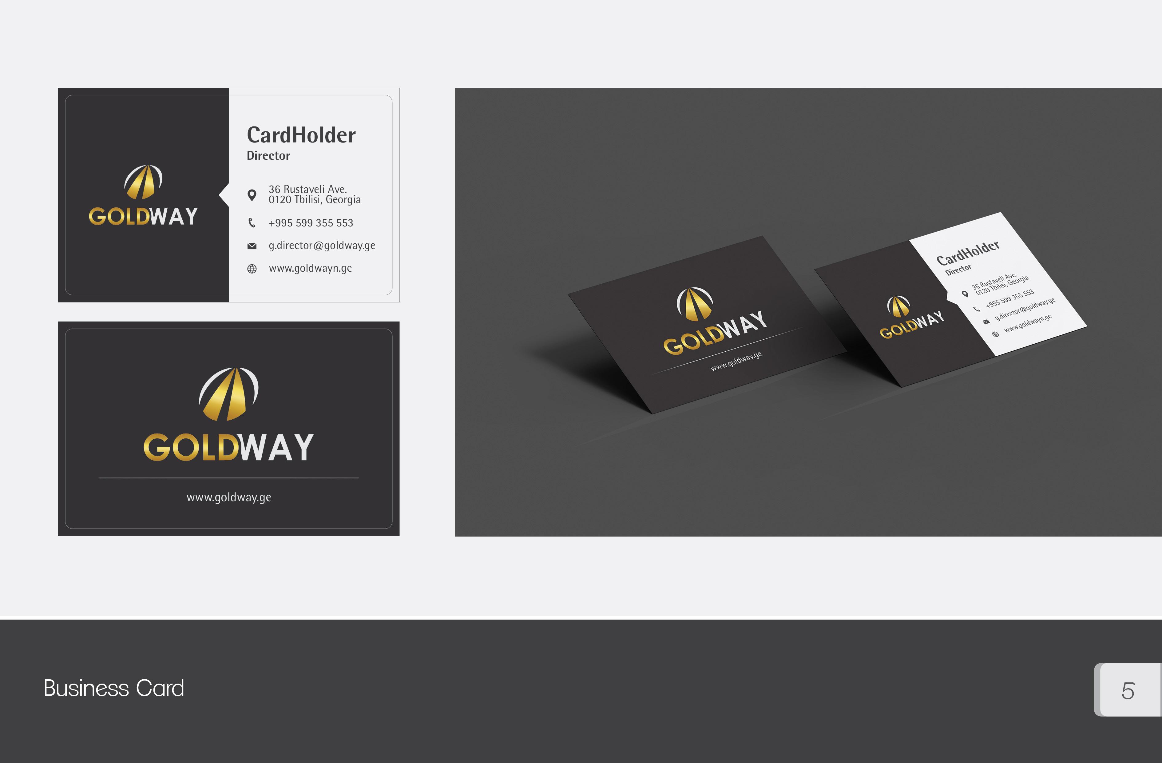 Goldway business card design, ლოგოს დამზადება, ლოგოს დიზაინი, ლოგოების შექმნა, ლოგოების დამზადება, ლოგოს დამზადების ფასი, ბრენდინგი, ბანერების დამზადება, ლოგოტიპის შექმნა, ლოგოტიპების დიზაინი, ოპტიმიზაცია, facebook დიზაინი, ვებგვერდის დიზაინი, ლოგოების დიზაინი, ლოგოტიპების დამზადება, saitebis damzadeba, logoebis damzadeba, saitis damzadeba, logos damzadeba,